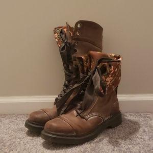 Dr. Martens Floral Convertible Boots